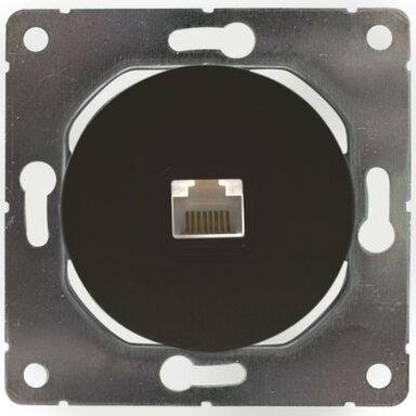Gniazdo komputerowe SOUL  czarny  DMP