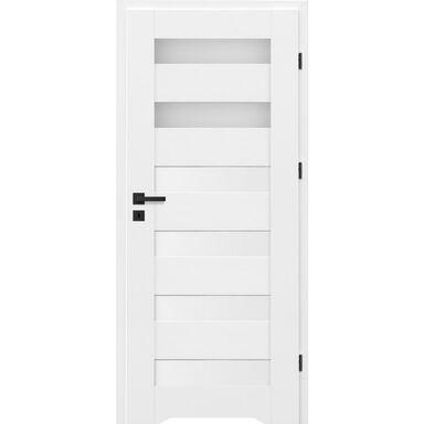 Skrzydło drzwiowe z podcięciem wentylacyjnym TALANA Białe 60 Prawe NAWADOOR