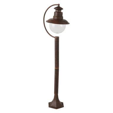 Lampa ogrodowa stojąca RUST MARINA IP44 patyna E27 INSPIRE