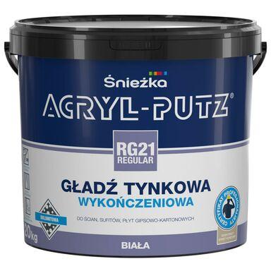 Gotowa gładź tynkowa Akryl-Putz Regular RG21 20 kg Śnieżka