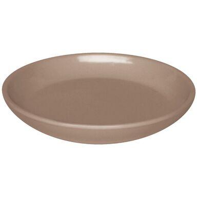 Podstawka pod doniczkę 15 cm ceramiczna beżowa PROWANSJA