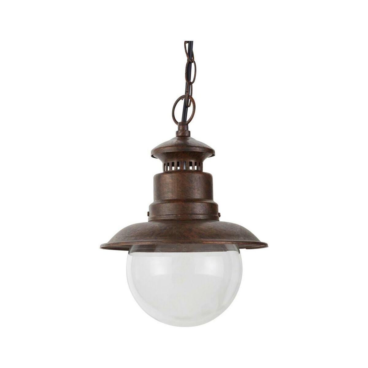 Lampa Ogrodowa Wiszaca Rust Marina Ip44 Patyna E27 Inspire Oswietlenie Ogrodowe Napieciowe W Atrakcyjnej Cenie W Sklepach Leroy Merlin