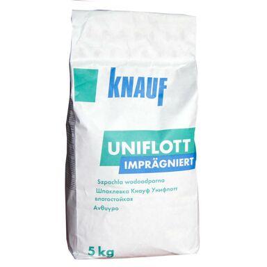 Gips szpachlowy impregnowany UNIFLOTT 5 kg KNAUF