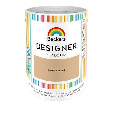 Farba wewnętrzna DESIGNER COLOUR 5 l Light Brown BECKERS