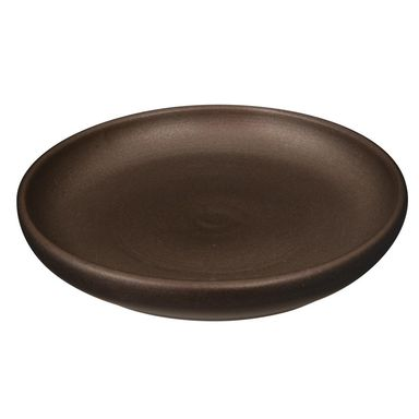 Podstawka pod doniczkę 22 cm ceramiczna miedziana