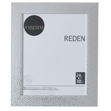 Ramka na zdjęcia REDEN 24 x 30 cm srebrna INSPIRE