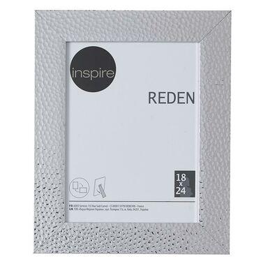 Ramka na zdjęcia REDEN 18 x 24 cm srebrna INSPIRE