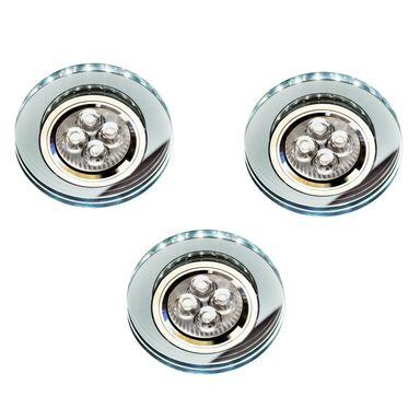 Zestaw opraw stropowych 3 szt. SS-23 białe GU10 + LED CANDELLUX