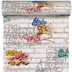 Tapeta dla dzieci GRAFFITI multikolor papierowa