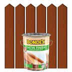 Lakierobejca do drewna SATIN FINISH 5 l Teak BONDEX