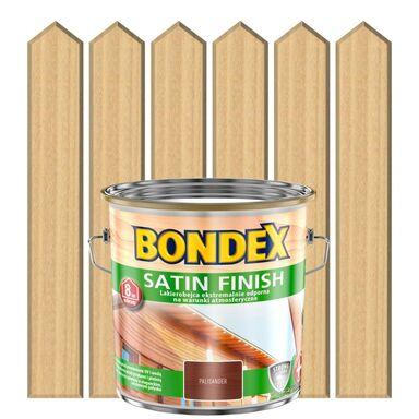 Lakierobejca do drewna SATIN FINISH 2.5 l  Bezbarwny BONDEX