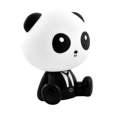 Lampa dziecięca PANDA czarno-biała LED POLUX