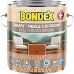 Olej do drewna POGODOODPORNY 2.5 l Tek BONDEX