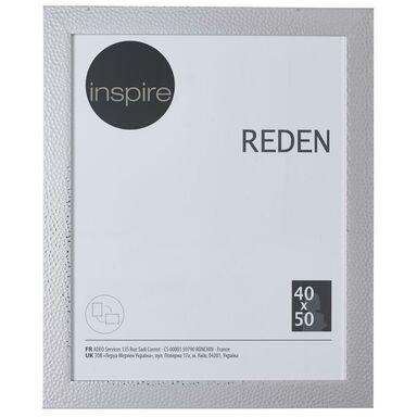 Ramka na zdjęcia REDEN 40 x 50 cm srebrna INSPIRE