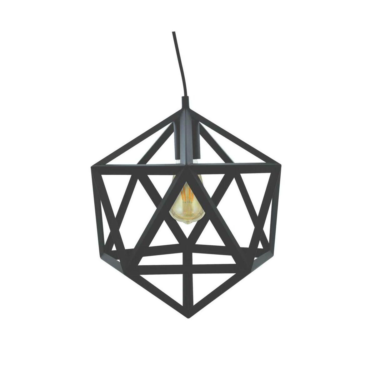 Lampa Wiszaca Denmark Czarna E27 Il Mio Zyrandole Lampy Wiszace I Sufitowe W Atrakcyjnej Cenie W Sklepach Leroy Merlin