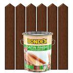 Lakierobejca do drewna SATIN FINISH 5 l  Orzech włoski BONDEX