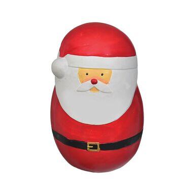 Mikołaj stojący 13 cm 1 szt. czerwony