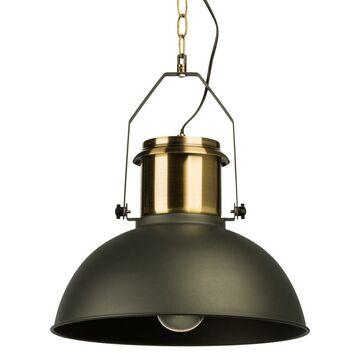 Lampa wisząca TED czarno-złota E27 INSPIRE