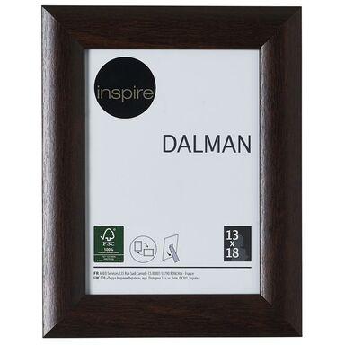 Ramka na zdjęcia DALMAN 13 x 18 cm brązowa drewniana INSPIRE
