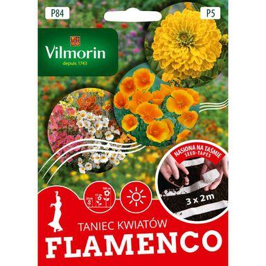 Mieszanka kwiatów FLAMENCO nasiona na taśmie 3 x 2 m VILMORIN