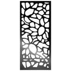 Panel ażurowy OTOCZAKI Czarny 90 x 200 cm