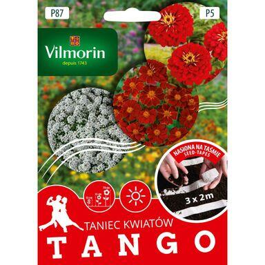 Mieszanka kwiatów TANGO nasiona na taśmie 3 x 2 m VILMORIN