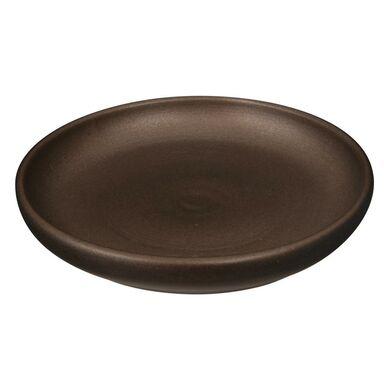 Podstawka pod doniczkę 11 cm ceramiczna miedziana