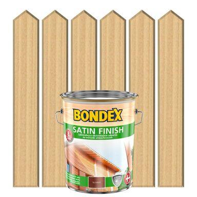 Lakierobejca do drewna SATIN FINISH 5 lBezbarwny BONDEX