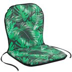 Poduszka na krzesło 43 x 80 x 3 cm BEN zielona PATIO