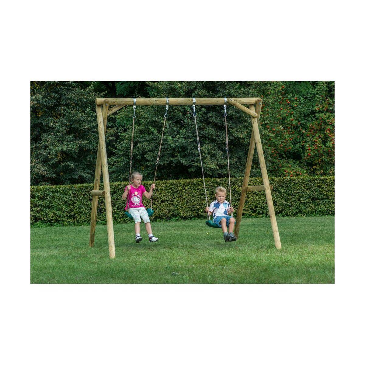 Ogrodowa Hustawka Dla Dzieci Mini Plus Drewniana Sobex Hustawki Dla Dzieci Bujaki W Atrakcyjnej Cenie W Sklepach Leroy Merlin