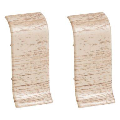 Łącznik do listwy przypodłogowej Ergo 56 Dąb kremowy 2 szt.
