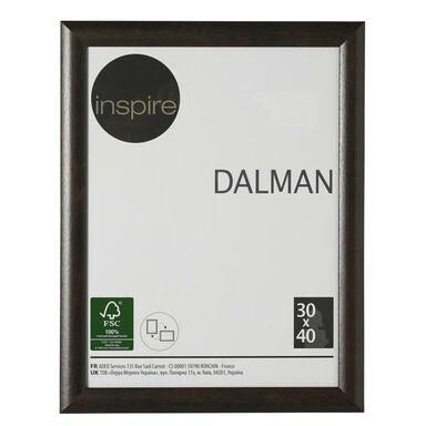 Ramka na zdjęcia DALMAN 30 x 40 cm brązowa drewniana INSPIRE