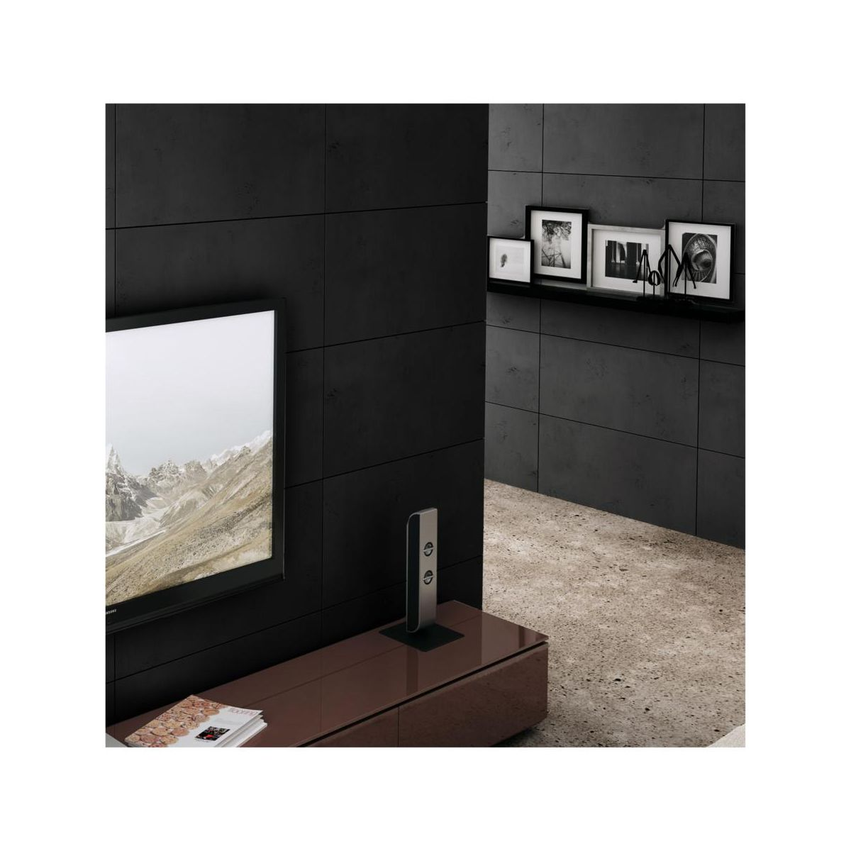 Beton Architektoniczny Czarny 40 X 80 Cm 1 Szt Steinblau Kamien Elewacyjny I Dekoracyjny W Atrakcyjnej Cenie W Sklepach Leroy Merlin
