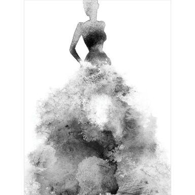 Plakat Baletnica Akwarela 30 x 40 cm