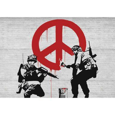 Fototapeta Banksy I 416 x 254 cm