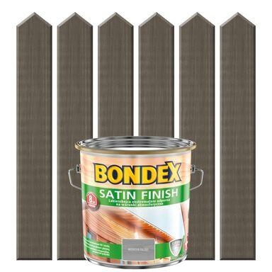 Lakierobejca do drewna SATIN FINISH 2.5 l  Modrzew palony BONDEX