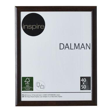Ramka na zdjęcia DALMAN 40 x 50 cm brązowa drewniana INSPIRE