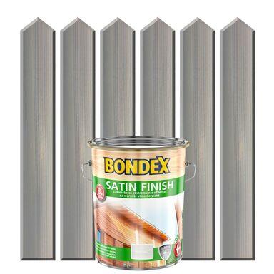 Lakierobejca do drewna SATIN FINISH 5 lBrzoza biała BONDEX
