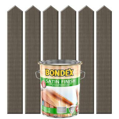 Lakierobejca do drewna SATIN FINISH 5 lModrzew palony BONDEX