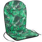 Poduszka na krzesło 46 x 96 x 3 cm BEN zielona PATIO