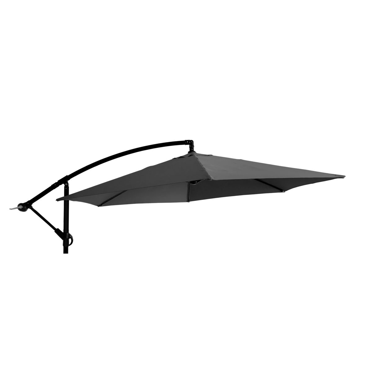 Parasol Ogrodowy 300 Cm Antracytowy Okragly Parasole Ogrodowe Podstawy W Atrakcyjnej Cenie W Sklepach Leroy Merlin