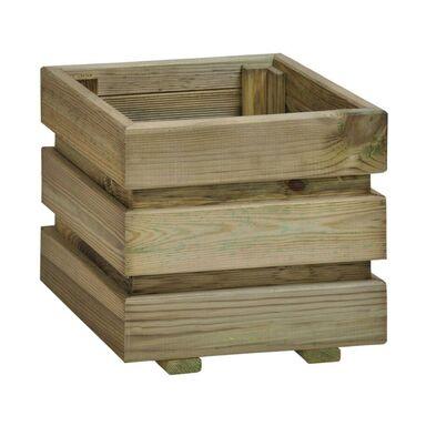 Donica ogrodowa 30 x 30 cm drewniana FIX SOBEX