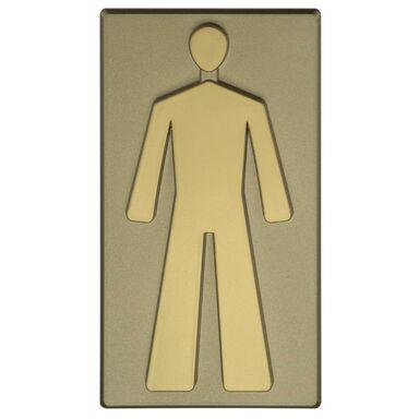 Znak informacyjny WC MĘSKIE