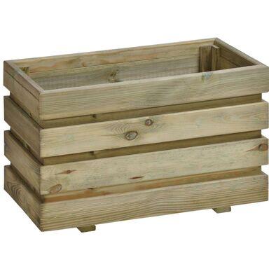 Donica ogrodowa 60 x 37 cm drewniana FIX SOBEX