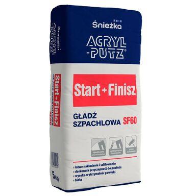 Gładź szpachlowa START+FINISH 5 kg ACRYL PUTZ