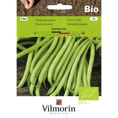 Fasola szparagowa SLENDERETTE nasiona ekologiczne 20 g VILMORIN