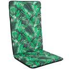 Poduszka na krzesło 50 x 115 x 4 cm MONA zielona PATIO