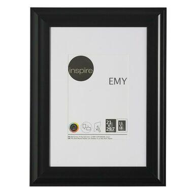 Ramka na zdjęcia Emy 21 x 29.7 cm czarna Inspire