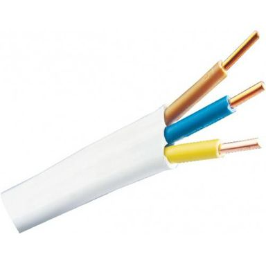 Przewód elektroenergetyczny YDYP 450 / 750V 3 X 2,5 50 m AKS ZIELONKA