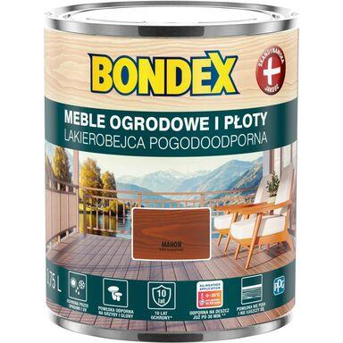 Lakierobejca do drewna POGODOODPORNA 0.75 l Mahoń BONDEX